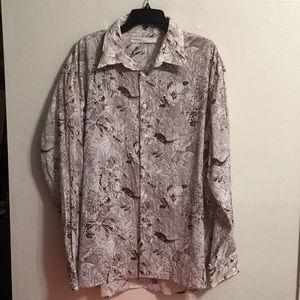 Perry Ellis designer shirt NWOT size xxl.